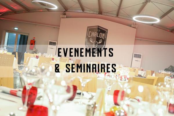 SEMINAIRE EVENT- événement et séminaire au Colisée Elan Chalon