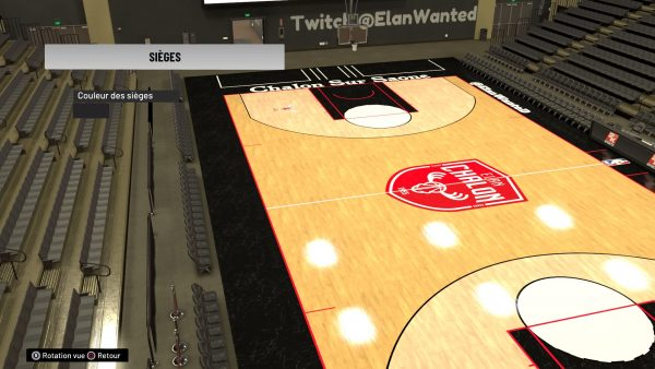 NBA2K parquet Elan Wanted