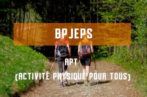 BPJEPS- APT -activitephysiquepourtous- formations diplômantes aux métiers du sport