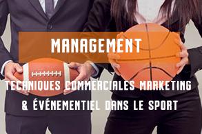 Techniques commerciales marketing et événementiel dans le sport -formations diplômantes aux métiers du sport